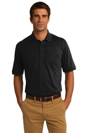 Port & Company Core Blend Jersey Knit Pocket Polo. KP55P