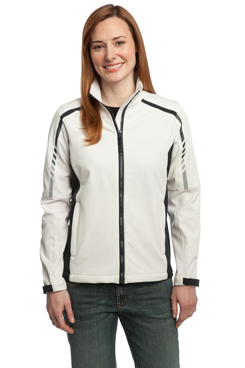 Port Authority Ladies Embark Soft Shell Jacket. L307