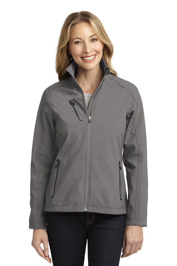 Port Authority Ladies Welded Soft Shell Jacket. L324