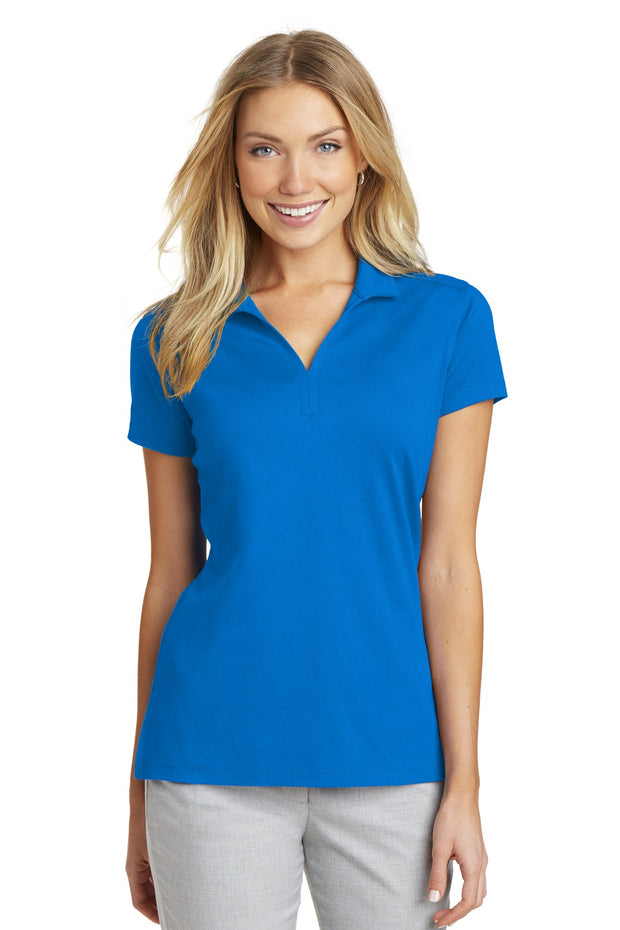 Port Authority Ladies Rapid Dry Mesh Polo. L573