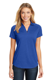 Port Authority Ladies Digi Heather Performance Polo. L574
