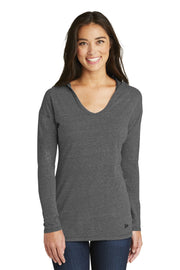 New Era  Ladies Tri-Blend Performance Pullover Hoodie Tee. LNEA131