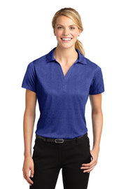Sport-Tek Ladies Heather Contender Polo. LST660