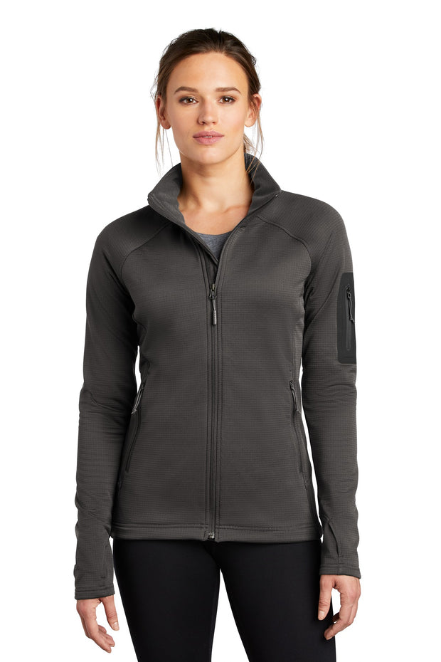 The North Face  Ladies Mountain Peaks Full-Zip Fleece Jacket NF0A47FE