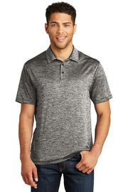 Sport-Tek  PosiCharge  Electric Heather Polo. ST590