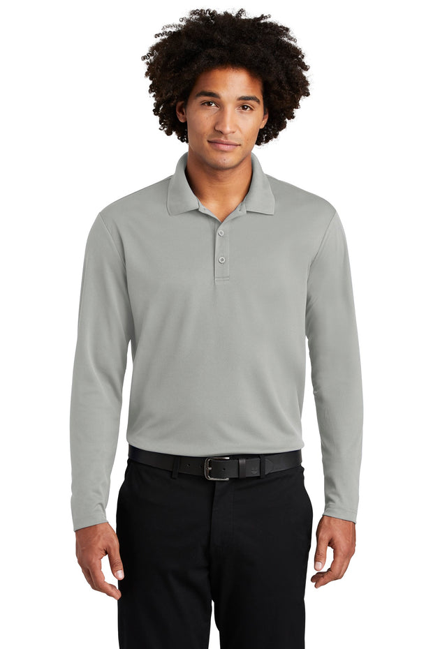 Sport-Tek  PosiCharge  RacerMesh  Long Sleeve Polo. ST640LS