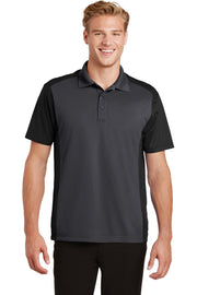 Sport-Tek Colorblock Micropique Sport-Wick Polo. ST652