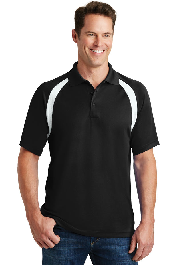 Sport-Tek Dry Zone Colorblock Raglan Polo. T476