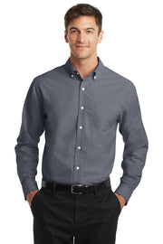 Port Authority Tall SuperPro Oxford Shirt. TS658