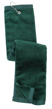 Port Authority Grommeted Tri-Fold Golf Towel.  TW50
