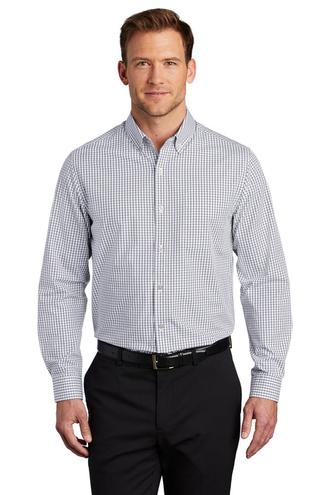 Port Authority  Broadcloth Gingham Easy Care Shirt W644