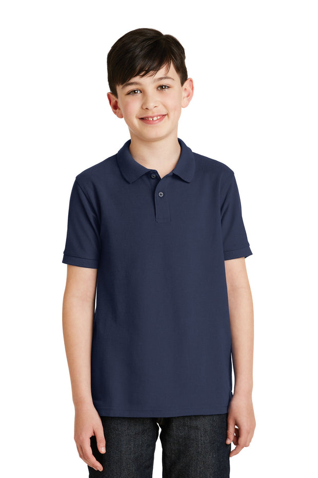 Port Authority Youth Silk Touch Polo.  Y500