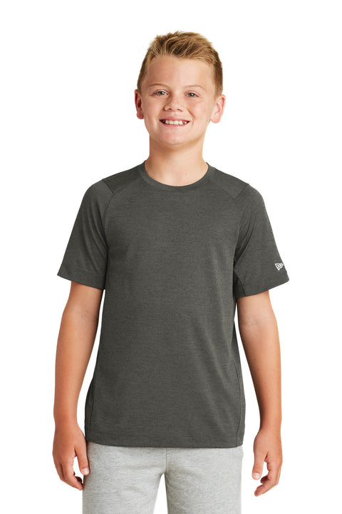 New Era  Youth Series Performance Crew Tee. YNEA200