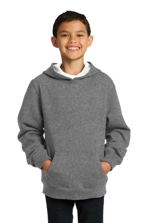 Sport-Tek Youth Pullover Hooded Sweatshirt. YST254