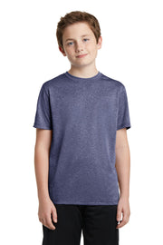 Sport-Tek Youth Heather Contender Tee. YST360
