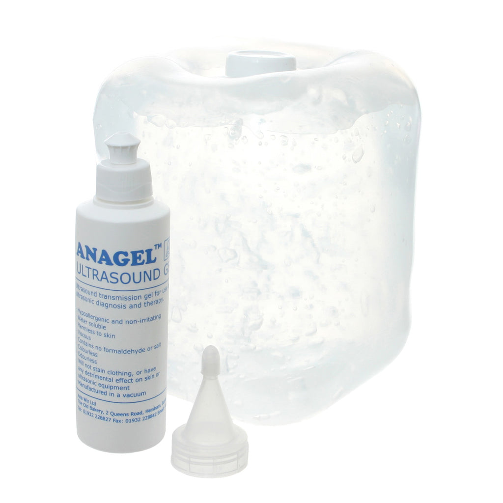 Ultrasound Gel 5 Ltr with 250ml refill bottle