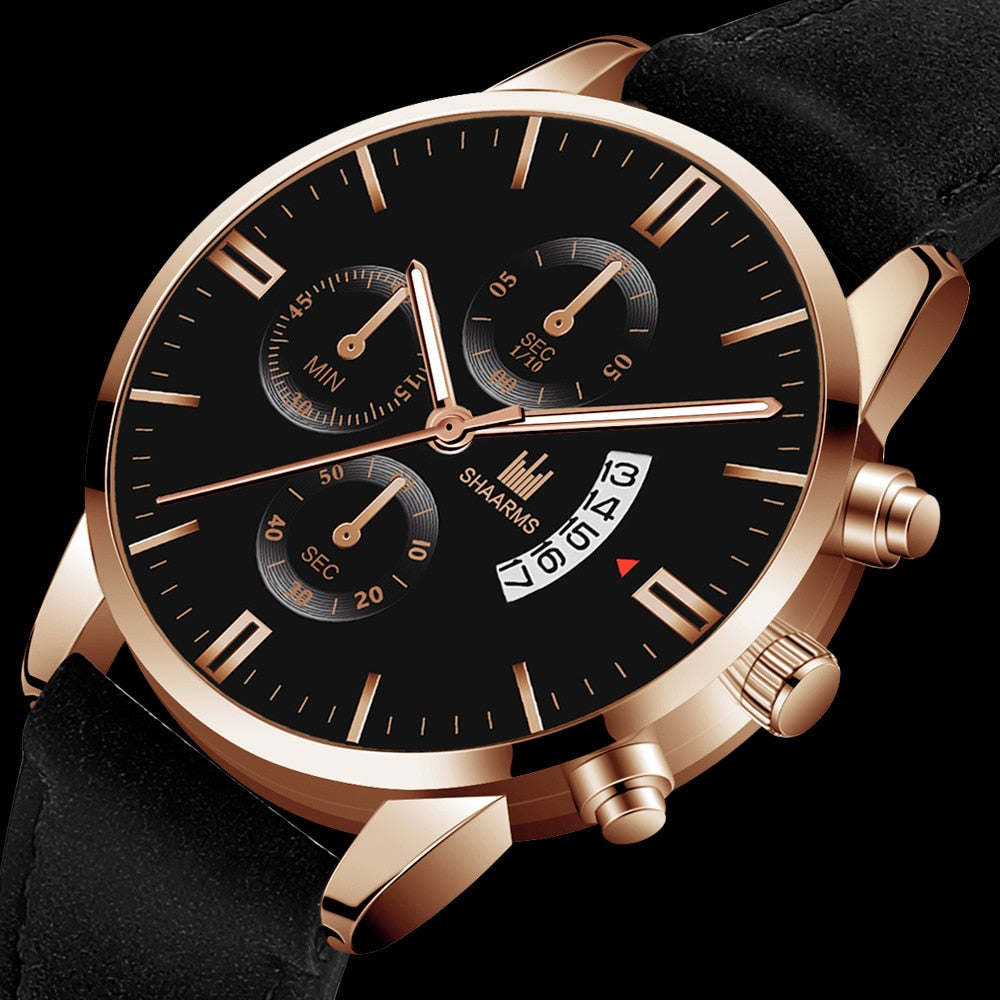 Shaarms classical men's watch