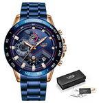 Load image into Gallery viewer, Lige rotello tachymeter mens watch