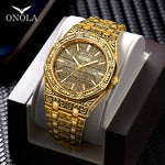 Load image into Gallery viewer, Onola kingpin carved watch