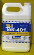 TEK-401C-20  Emulsion Remover Concentrate - 1 Gallon