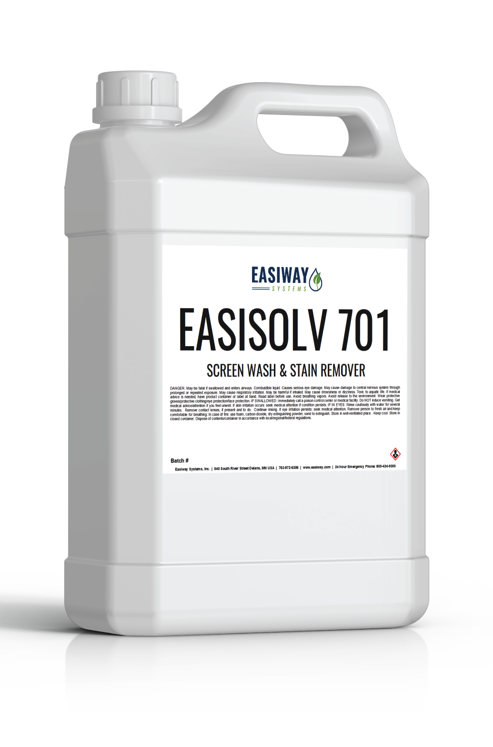 Easiway 701 - Screen Wash & Stain Remover - 1 Gallon