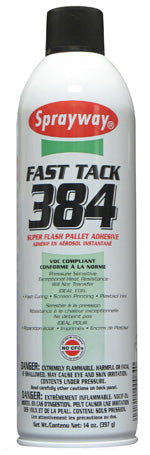 Sprayway Fast Tack 384 Super Flash Spray Adhesive