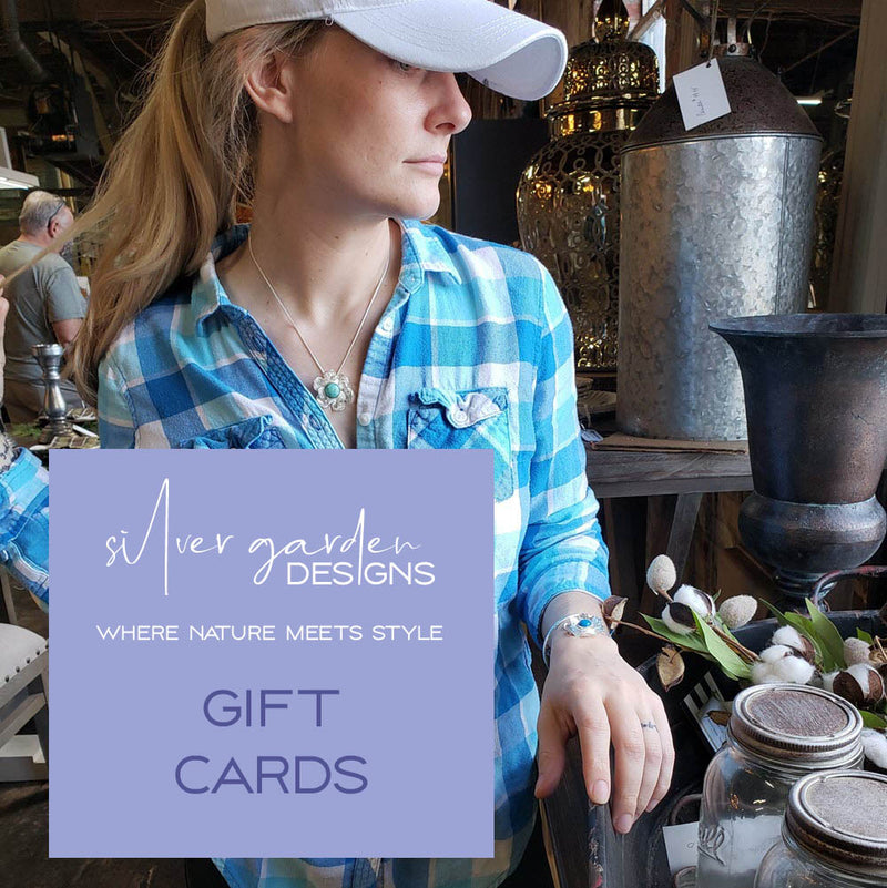 Gift card from Silver Garden Designs