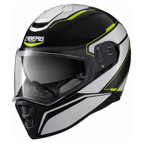 Casco Drift Tour Ngo/Bco/Ama Fluo M