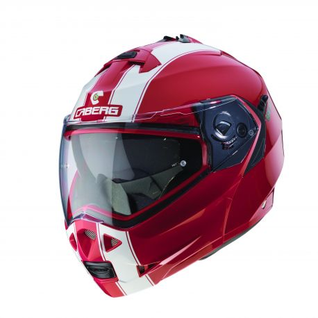 Casco Duke II Legend  Rjo/Bco S