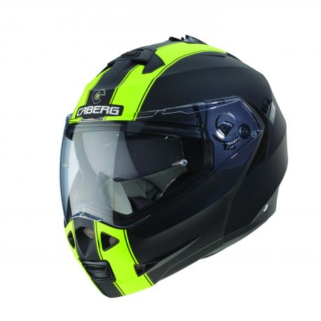 Casco Duke Legend Negro/ Amarillo M