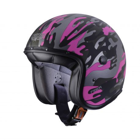 Casco Freeride Commander Vde/Fucsa XS