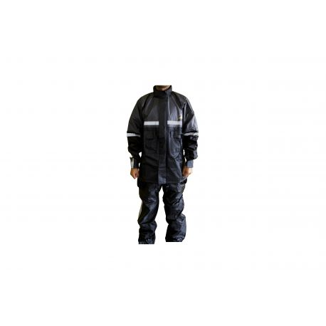 Impermeable Negro XL MF