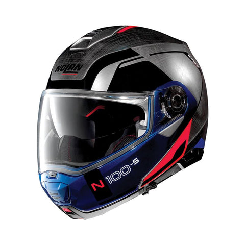 Casco N100-5  Consistency N-Com 29 Scratched Chrome S