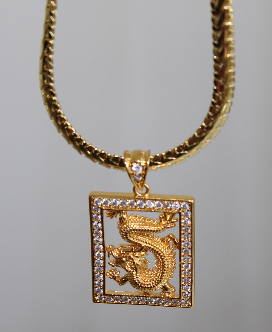 Dragon Energy Necklace