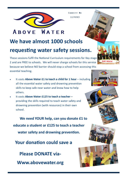 Why donate to Above Water?
