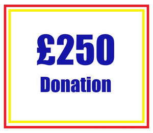£250 Donation to Above Water