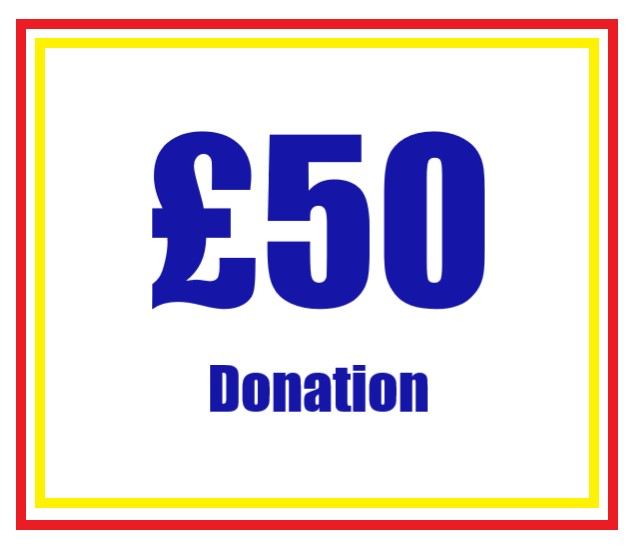 £50 Donation to Above Water