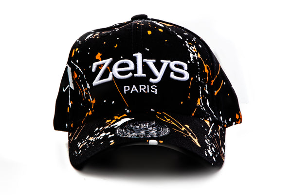 CP Black / Orange - ZELYS PARIS