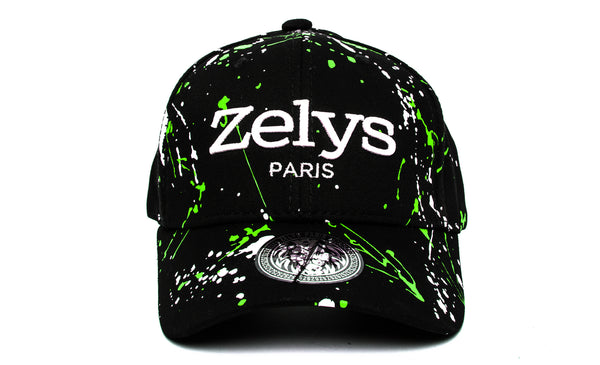 CP black / Green - ZELYS PARIS