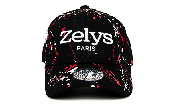 CP Black/red - ZELYS PARIS