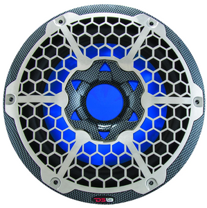 "DS18 HYDRO 10"" MARINE SUBWOOFER WITH INTEGRATED RGB LIGHTS 550 WATTS"