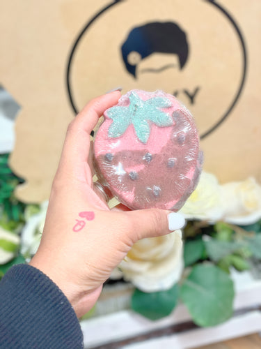 Fresa Con Chocolate Bath Bomb