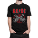 AC DC I WANNA ROCK - CAMISETA - - kxulo