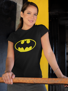 BATMAN LOGO AMARILLO - CAMISETA