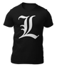 DEATH NOTE - L - CAMISETA