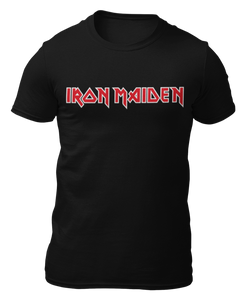 IRON MAIDEN - Logo - CAMISETA