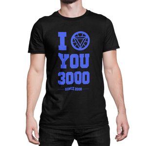 IRON MAN - I Love You 3000 - CAMISETA