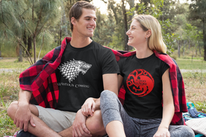 JUEGO DE TRONOS -Winter Is Coming Stark - CAMISETA