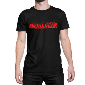 METAL GEAR SOLID - Logo Mgs - CAMISETA