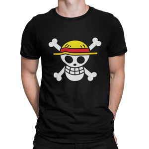 ONE PIECE - Logo Luffy - CAMISETA